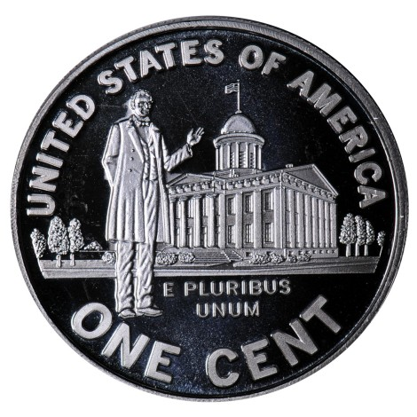 President Lincoln Silver 1 Oz Coin